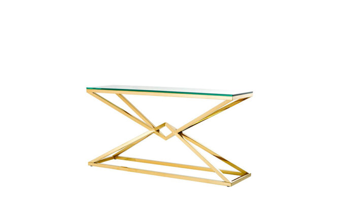 CONNOR CONSOLE TABLE GOLD Product Image