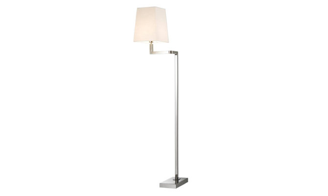 CAMBELL FLOOR LAMP NICKEL Product Image