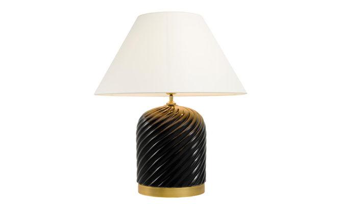 SAVONA TABLE LAMP BLACK Product Image