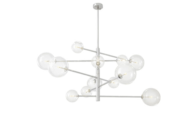 Argento Chandelier Large – Nickel Product Image