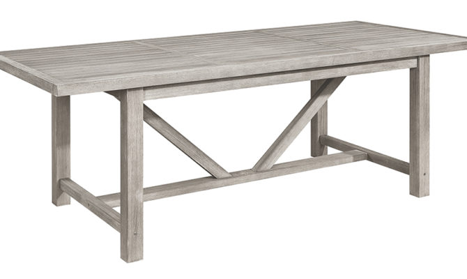 Vintage Outdoor Dining Table (small) Product Image