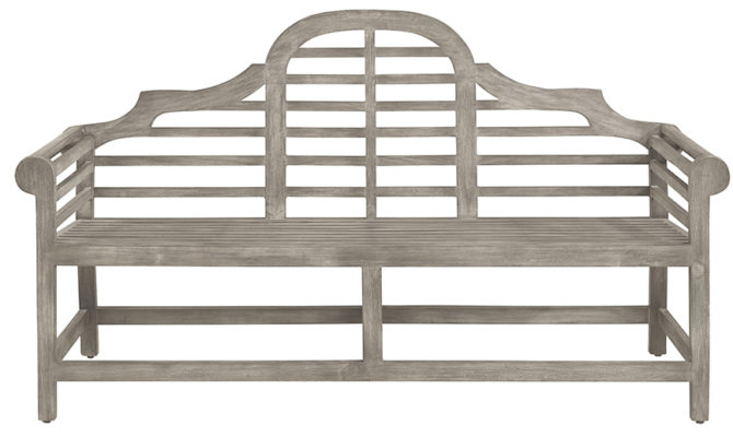 Vintage Outdoor Park Bench Product Image