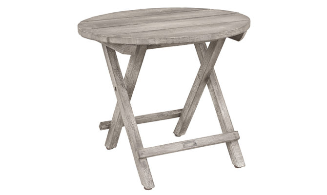 Vintage Outdoor Side Table – Round Product Image