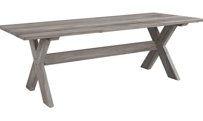 Cross Outdoor Dining Table Product Image