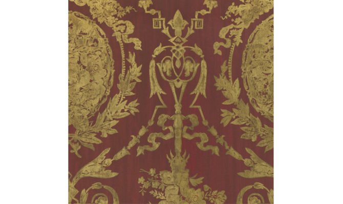 ABBEYWOOD DAMASK – BALMORAL RED LWP50927W Product Image