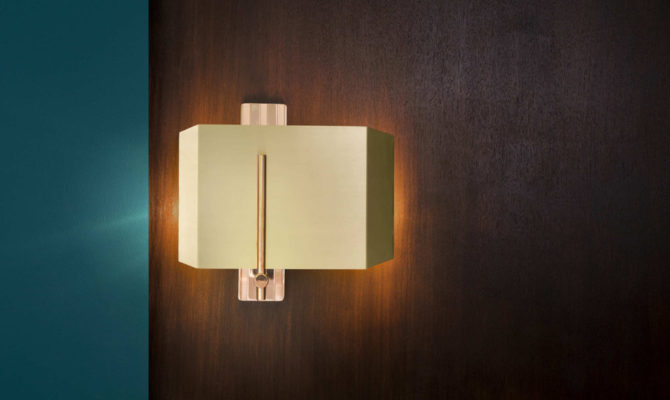 AEGIS WALL LIGHT / COPPER & BRASS / LEFT Product Image