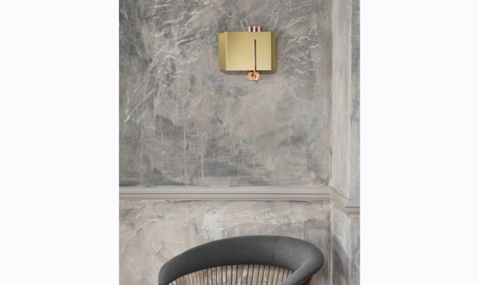 AEGIS WALL LIGHT / COPPER & BRASS / RIGHT Product Image