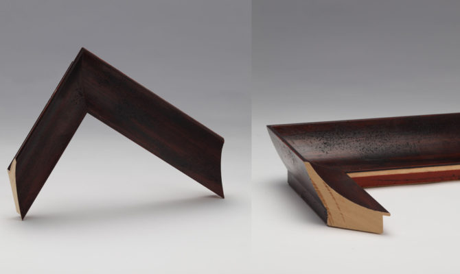 ART B19502 | Moulding – Dark / Walnut / Timber Product Image