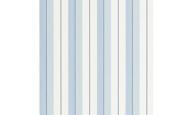 Aiden Stripe – Blue / White PRL020 04 Product Image
