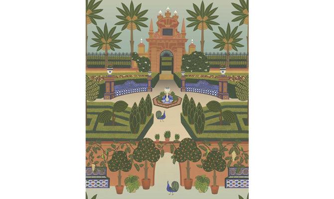 Alcazar Gardens 117-7020 Product Image