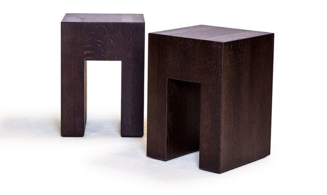 Archie Timber Cube Product Image
