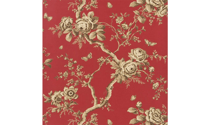 Ashfield Floral – Balmoral / Red PRL027 09 Product Image