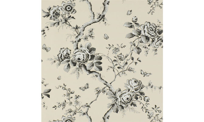 Ashfield Floral – Etched Black PRL027 03 Product Image
