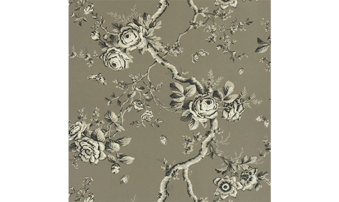 Ashfield Floral – Gun Metal PRL027 04 Product Image