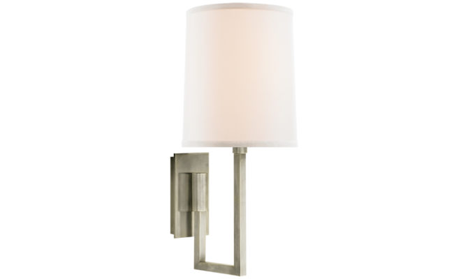 Aspect Library Sconce Pewter Product Image