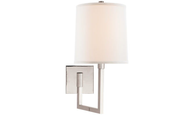 Aspect Small Articulating Sconce Polished Nickel Product Image