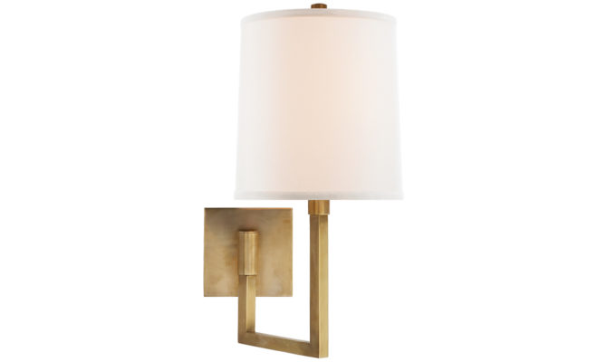 Aspect Small Articulating Sconce Brass Product Image