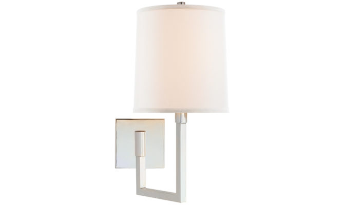 Aspect Small Articulating Sconce Silver Product Image