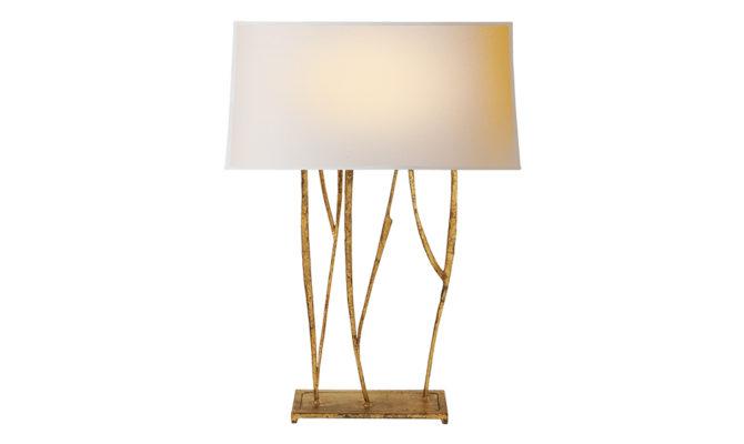 Aspen Console Lamp Gilded Iron Product Image
