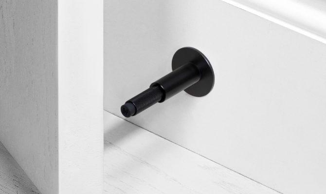 DOOR STOP / WALL / BLACK Product Image