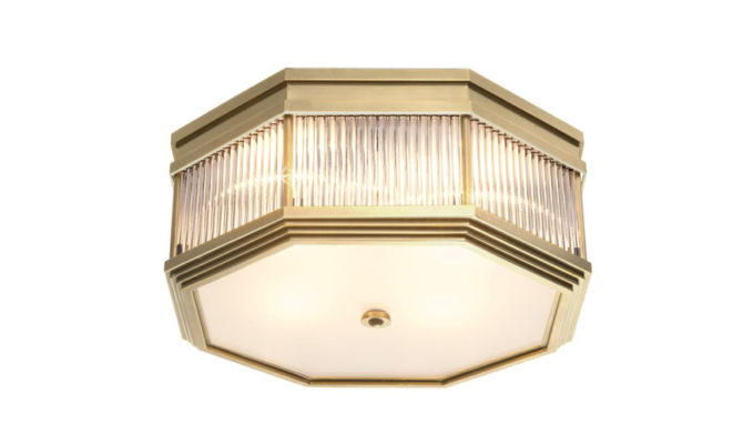 Bagatelle Ceiling Lamp – Antique Brass Product Image