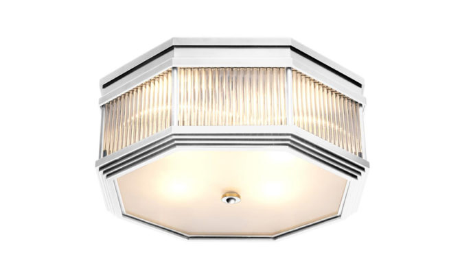 Bagatelle Ceiling Lamp – Nickel Product Image