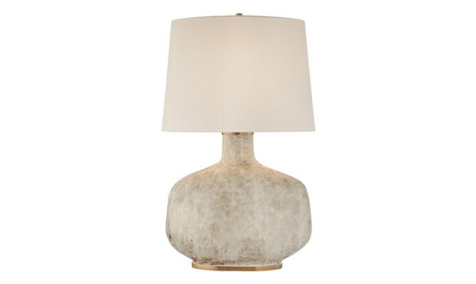 Beton Large Table Lamp Antiqued White Product Image