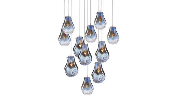 soap chandelier | 11 pcs – Blue Product Image