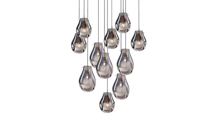 soap chandelier | 11 pcs – Silver Product Image