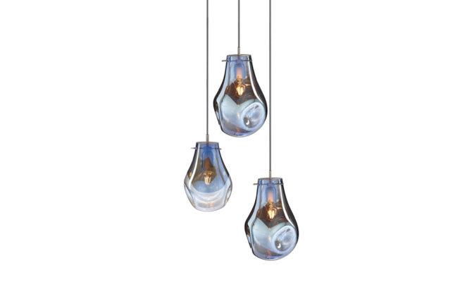 soap chandelier | 3 pcs – blue Product Image