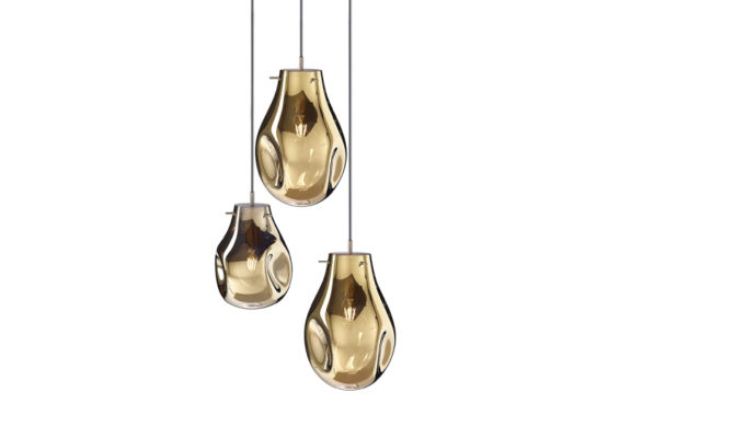 soap chandelier | 3 pcs – Gold Product Image