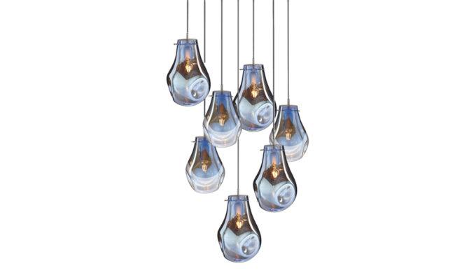 soap chandelier | 7 pcs – Blue Product Image