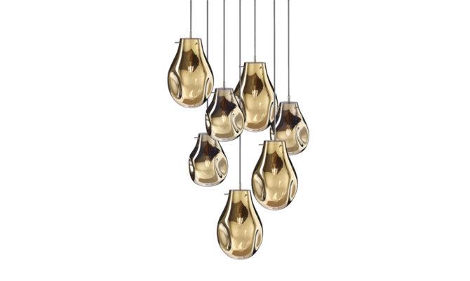 soap chandelier   7 pcs – Gold Product Image