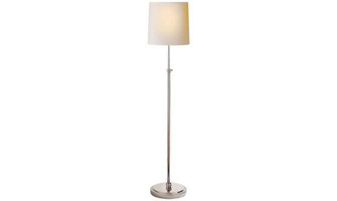 Bryant Floor Lamp Polished Nickel Product Image