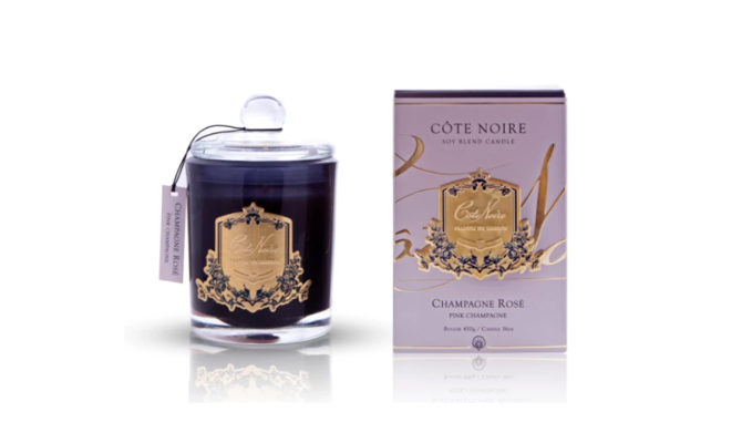 Côte Noire Candle – Pink Champagne Product Image