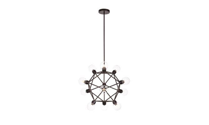 Celestial Pendant FLAT BRASS Product Image