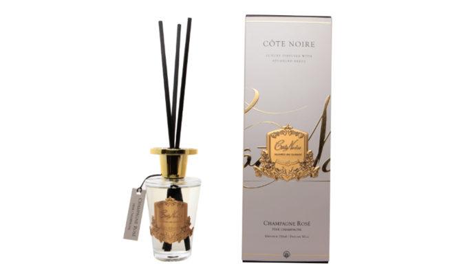 Côte Noire Diffuser Set – PINK CHAMPAGNE – GOLD Product Image