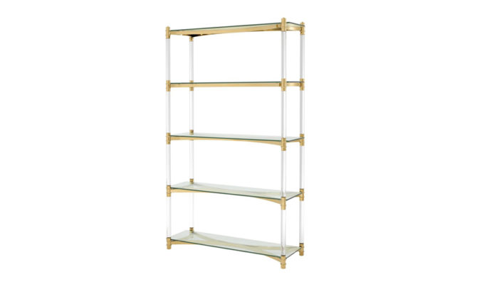 Trento Cabinet – Gold Product Image