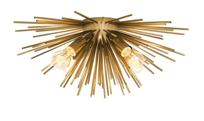 Boivin Ceiling Lamp – Brass Product Image