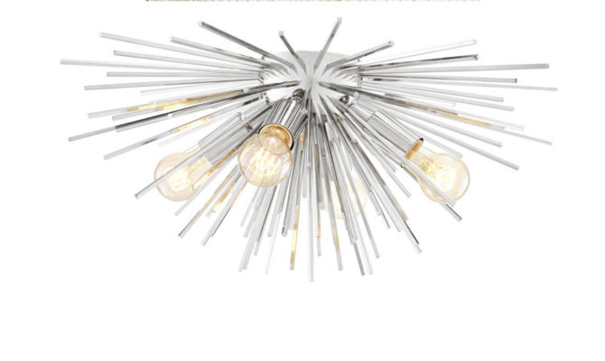 Boivin Ceiling Lamp – Nickel Product Image