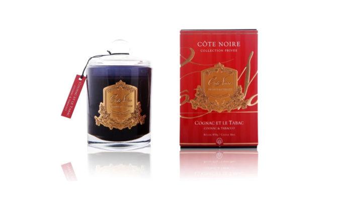 Côte Noire Candle – Cognac & Tobacco Gold Product Image