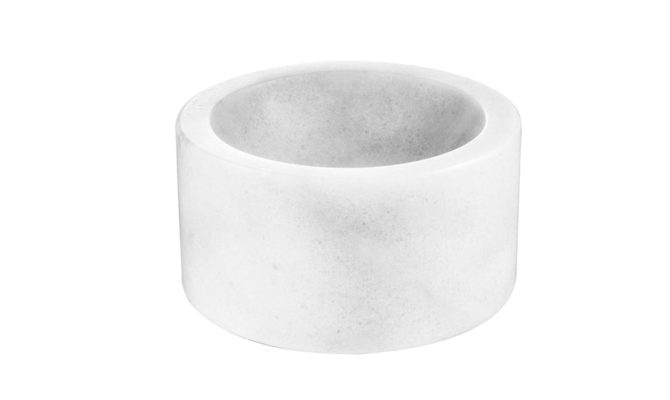 Conex Bowl – white marble Product Image