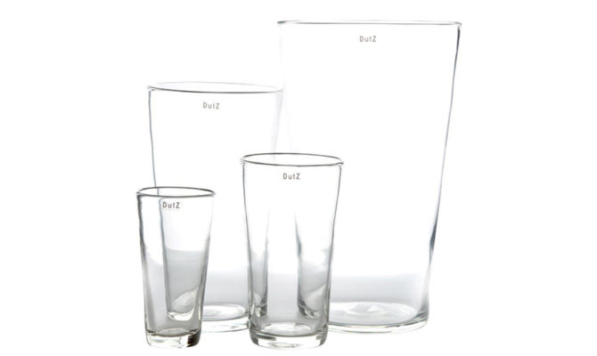 Conic Vase | Clear Product Image