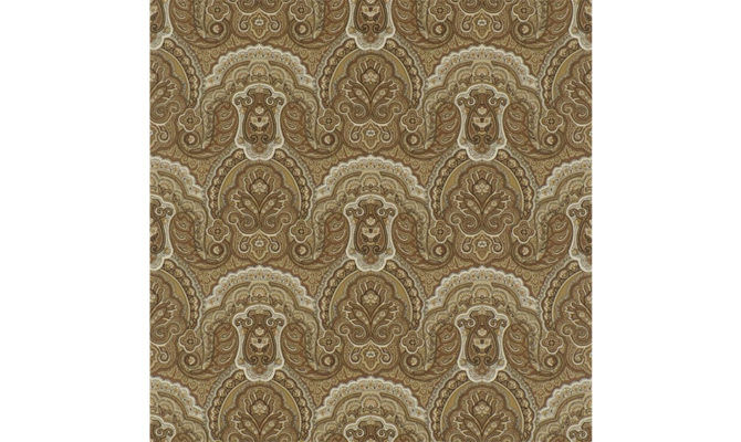 Crayford Paisley – Sepia PRL034 03 Product Image