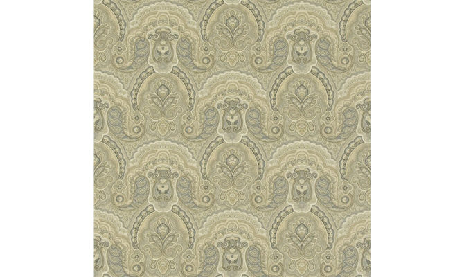 Crayford Paisley – Stone PRL034 02 Product Image