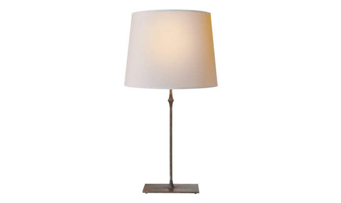 Dauphine Table Lamp Aged Iron Product Image
