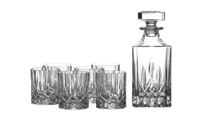 Seasons Decanter Set: Decanter & 6 Tumblers Product Image