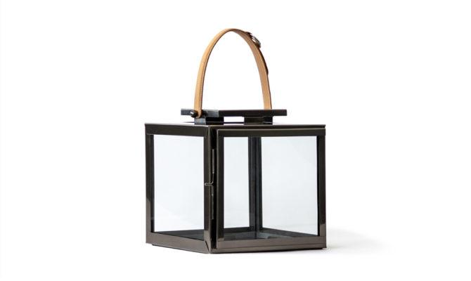 Derby Lantern – Small Black Nickel Product Image