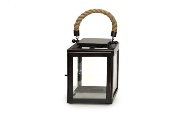 Derby Lantern / Marine Grade Antique Black – Extra Small Product Image