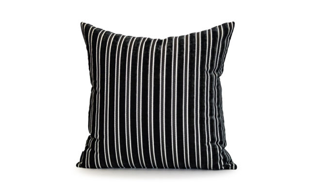 ETON STRIPE VELVET – Cushion Product Image